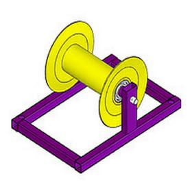 Прямой стандартный кабельный ролик РПК 150