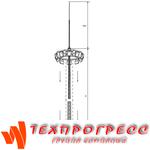 Молниеотводы на базе высокомачтовых опор с мобильной короной ВГМ