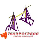 Разборный винтовой кабельный домкрат ДКВ 22-5Р