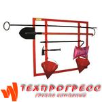 Щит пожарный металлический открытого типа Престиж