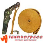 Ремень стяжной EKTO с 2-я крюками 3000 кг