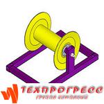 Прямой стандартный кабельный ролик РПК 150М