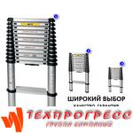 ЛЕСТНИЦА ТЕЛЕСКОПИЧЕСКАЯ 3,8М - SHTOK