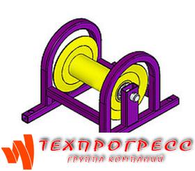 Прямой кабельный ролик РПК 150МВ
