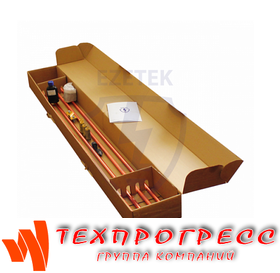 Комплект заземления EZ 6 (14,2) в коробке, стержень омедненный 14,2 мм (5/8)x1,5, комплект