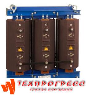 Сухой трансформатор ТЛС-10 в литой изоляции