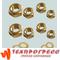 Латунные гайки и шайбы для трансформатора